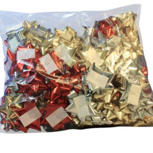 Stick On Bows - Medium - Assorted Colours