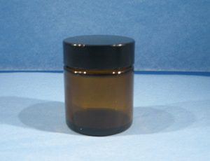 60ml amber wide mouth