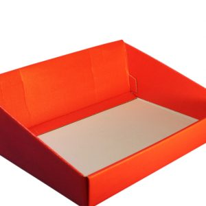 Red High back hamper tray