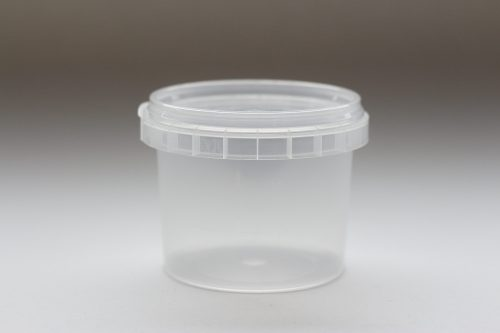 120ml round plastic tub with tamper evident lid. Food packaging great for confectionarys, cheese, soup, spices and sauces.From our food packaging range.