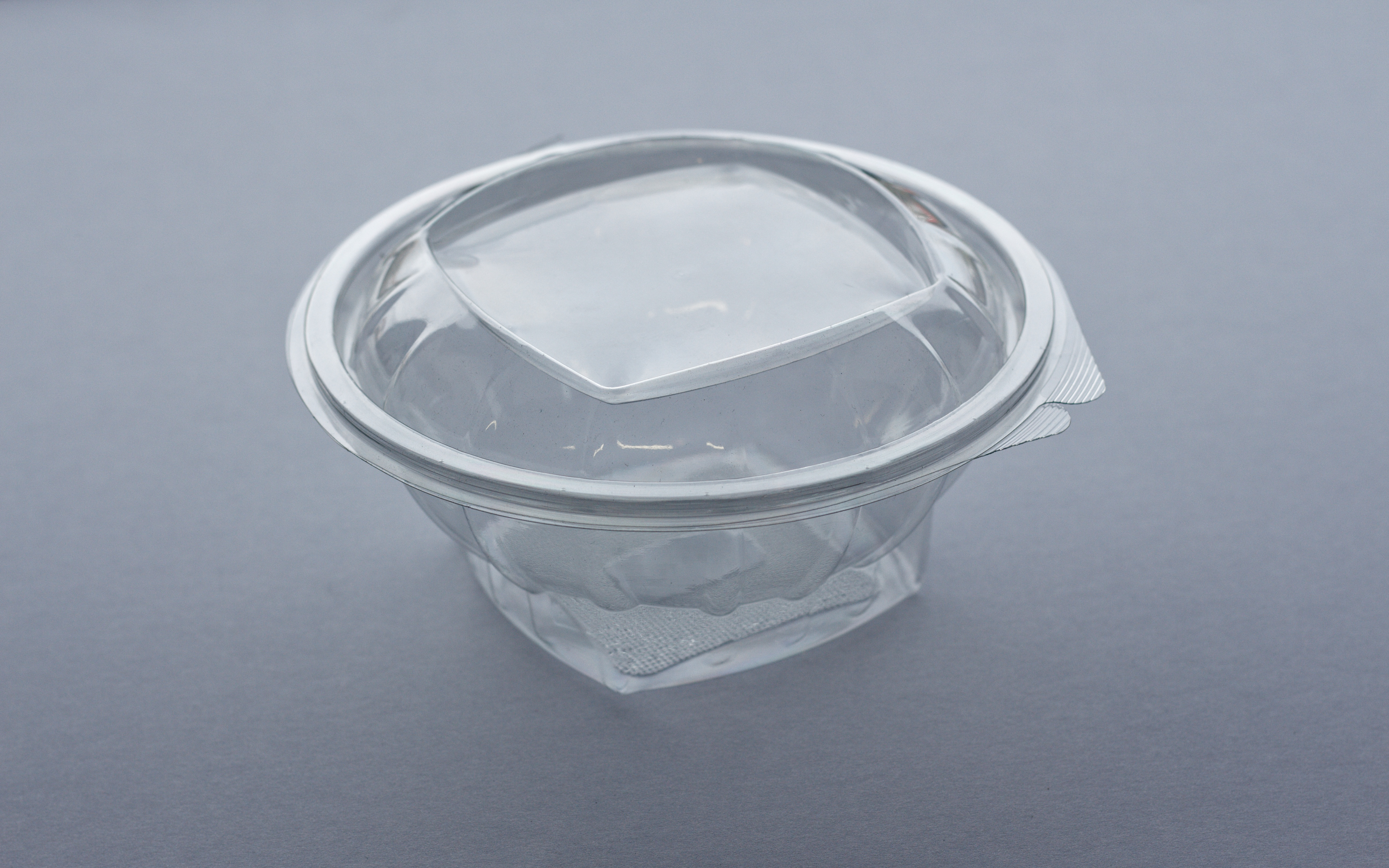 Square Recycled-PET Clear Food Pastry Cookie Storage Plastic Container Lids