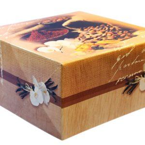 Cake Box - Terroir Design (20 x 20 x 10)