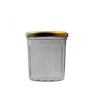 324ml Traditional Menage Glass Jar With Lid
