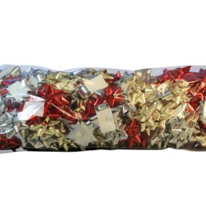 Stick On Bows - Mini - Assorted Colours