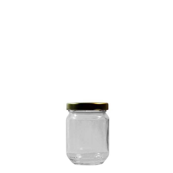 61e737bee09a 100ml Round Glass Jar With Lid