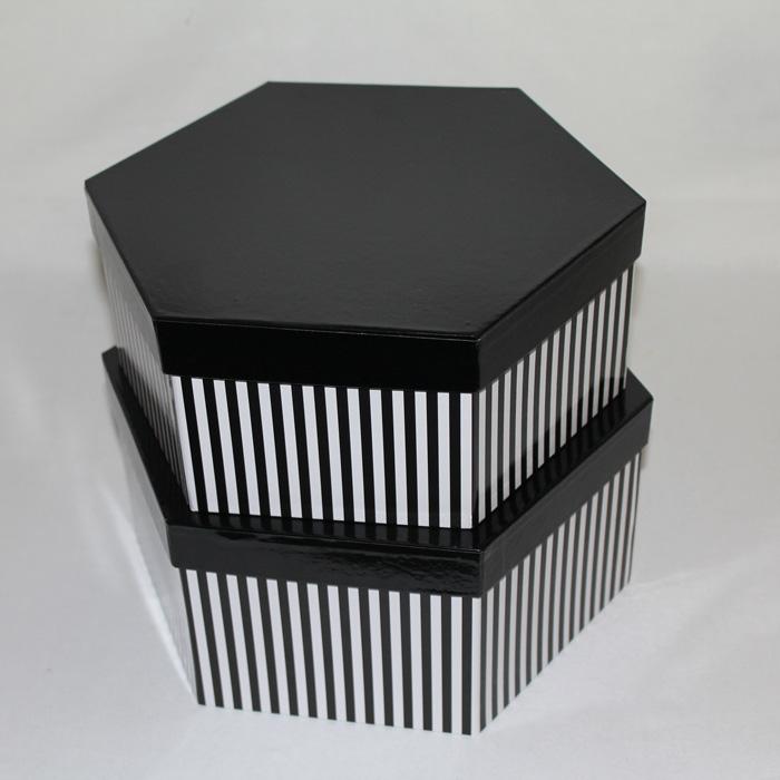 Set Of 2 Hexagonal Hat Box Epackagingie For All Your Packaging