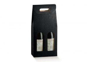 Double Black Wine Box. From Our Gift Packaging Range.