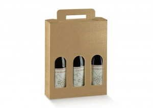 Treble Gold Wine Boxes perfect for gifts. From Our Wine Packaging Range