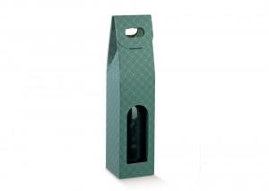 Single Eucalyptus Wine Box